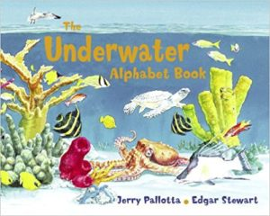 The Underwater Alphabet Book by Jerry Pallotta