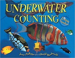 Underwater Counting: Even Numbers by Jerry Pallotta