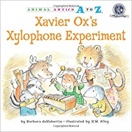 Xavier Ox's Xylophone Experiment by Barbara deRubertis