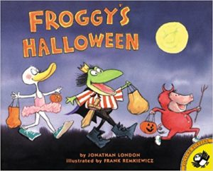 Froggy's Halloween by Jonathan London