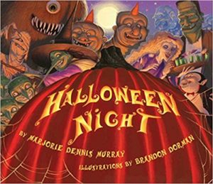 Halloween Night by Marjorie Dennis Murray