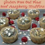 These Gluten Free Oat Flax Seed Raspberry Muffins are super healthy, egg free, dairy free, and vegan friendly and oh so yummy! You are not even going to miss those things, trust me!