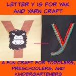 Letter Y is for Yak and Yarn Craft
