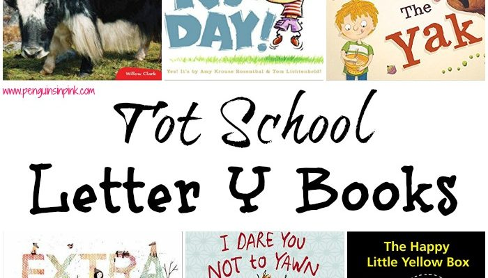 Tot School Letter Y Books