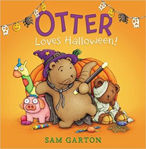 Otter Loves Halloween by Sam Garton
