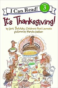 It's Thanksgiving by Jack Prelutsky