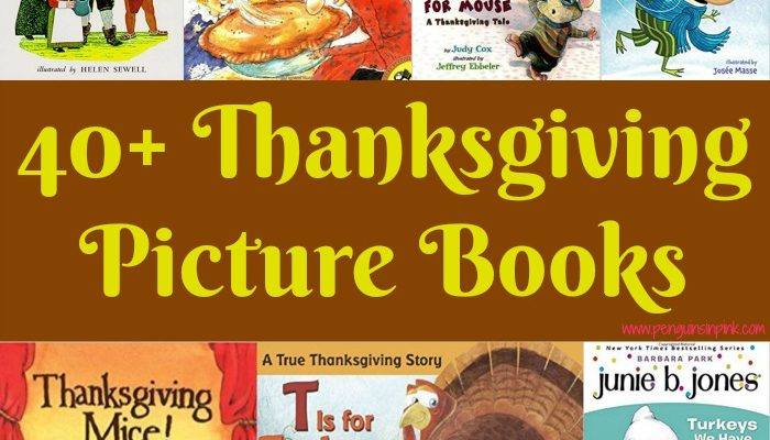 40+ Thanksgiving Picture Books