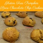 Gluten Free Pumpkin Spice Chocolate Chip Cookies