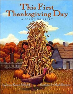 This First Thanksgiving Day A Counting Story by Laura Krauss Melmed