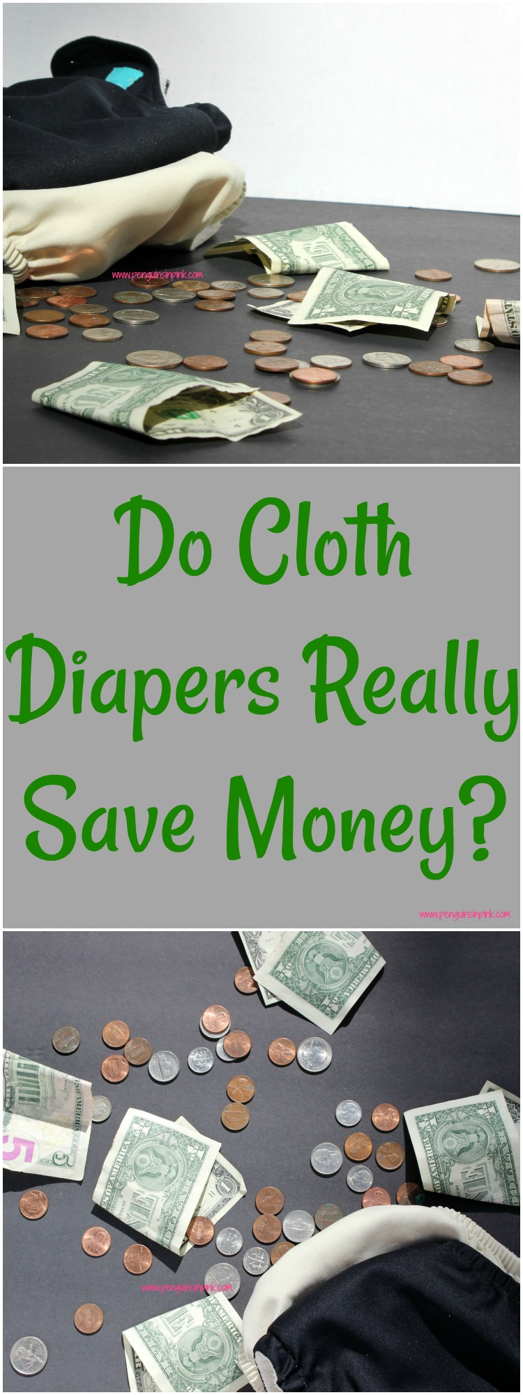 Do cloth diapers really save money? Yes! Check out this comparison of the cost of cloth diapers to disposables to see how cloth diapers save me $985 yearly for two babies.