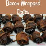 Bacon Wrapped Dates combine the crispy, savory, saltiness of bacon with sweet, chewy dates along with the subtle sourness of balsamic vinegar to make one delectable appetizer.