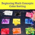 Beginning Math Concepts: Color Sorting
