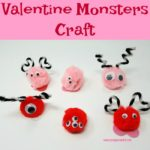 Valentine Monsters Craft