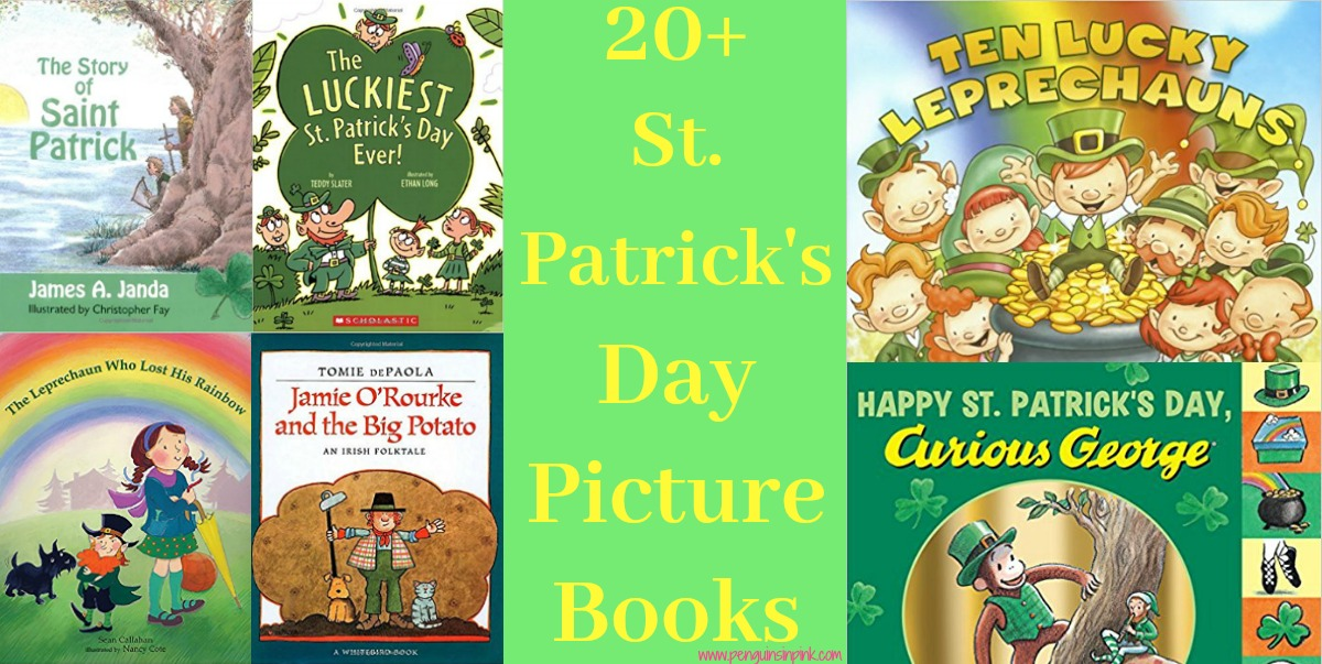 T 20+ St. Patrick's Day Picture books