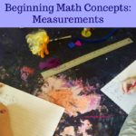 Beginning Math Concepts: Measurements
