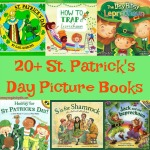 These 20+ St. Patrick's Day Picture books are perfect for read-alouds and for beginning readers to practice reading. The books range from Preschool to 3rd grade.