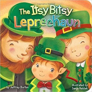 The Itsy Bitsy Leprechaun by Jeffrey Burton