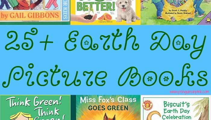 25+ Earth Day Picture Books