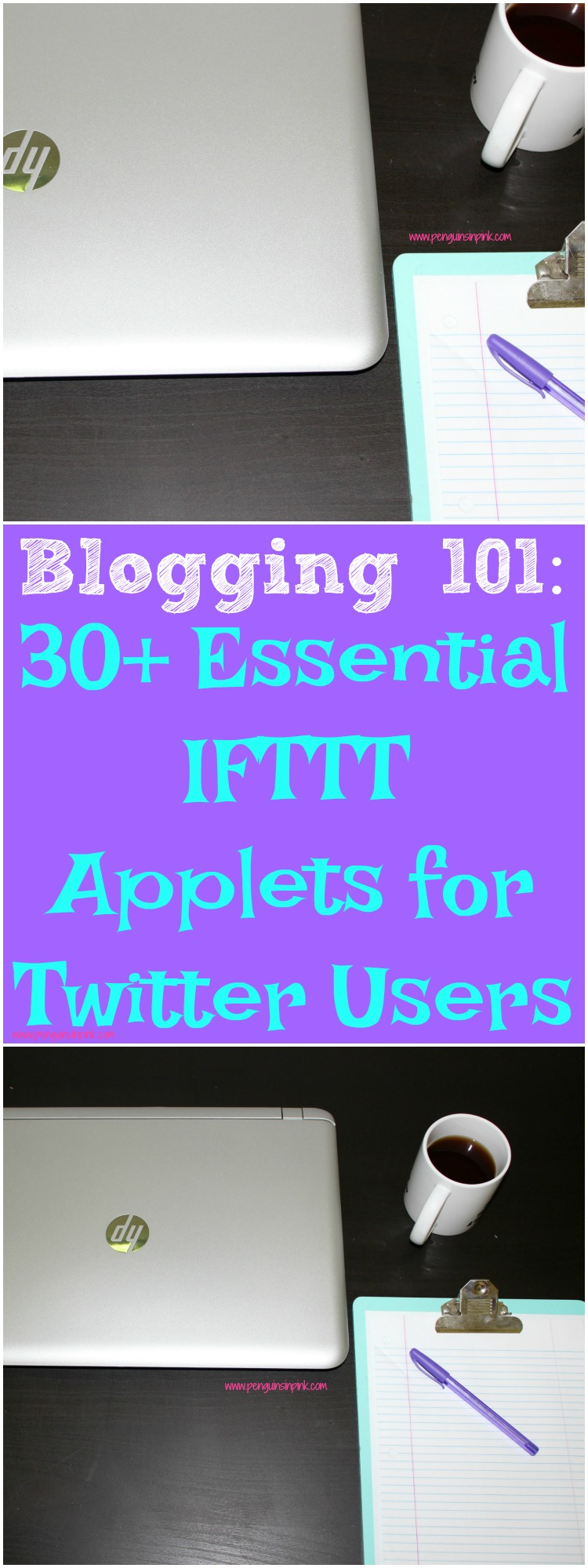 Blogging 101: 30+ Essential IFTTT Applets for Twitter Users Automate your Twitter life! Let IFTTT take care of some cross posting, keep your profile pictures in sync and numerous other tasks.