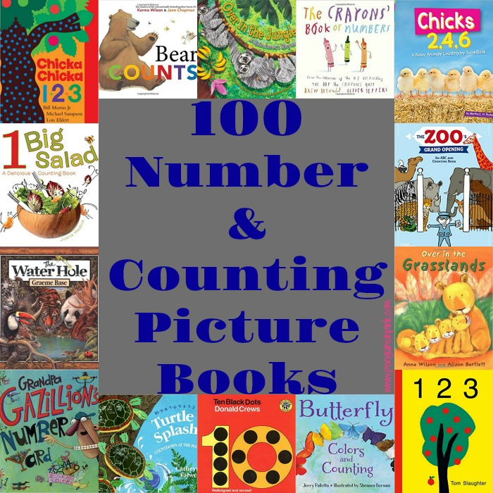 100 Number and Counting Picture Books
