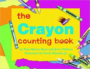 The Crayon Counting Book by Jerry Pallotta