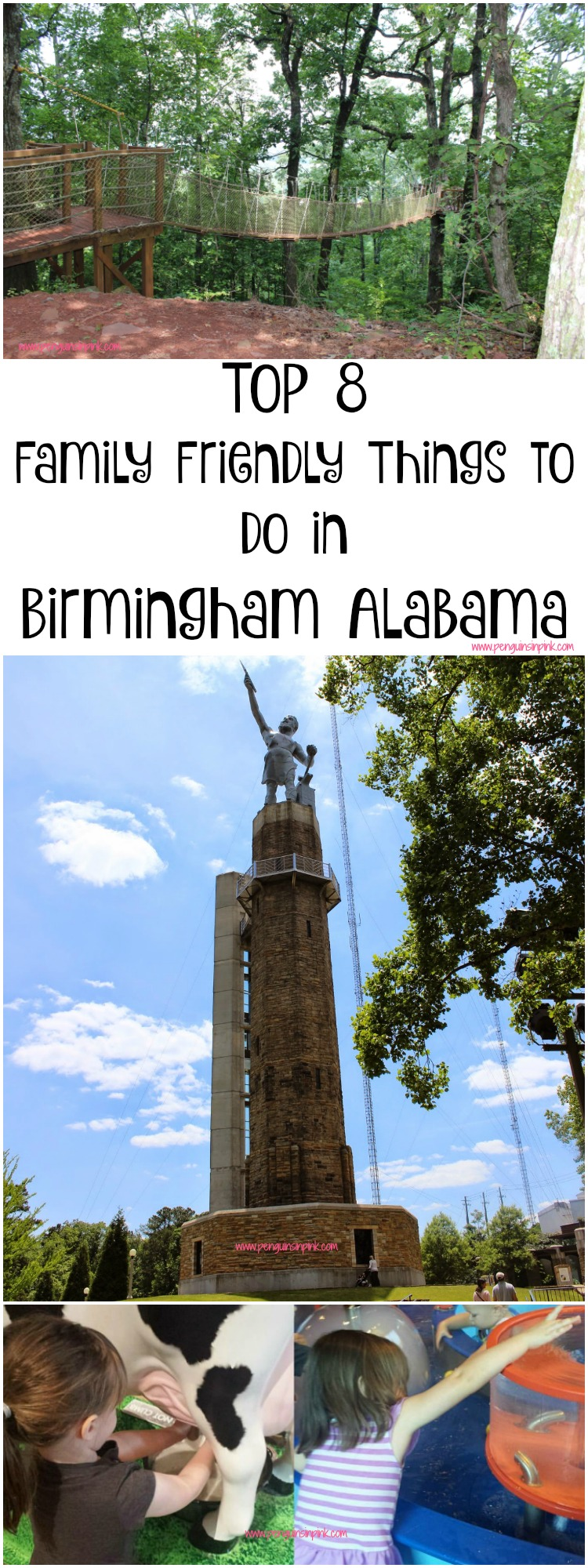 From hiking to the zoo and beautiful gardens to the art museum check out our Top 8 Family Friendly Things to Do in Birmingham Alabama. With 4 bonus places we want to visit the next time we are there.