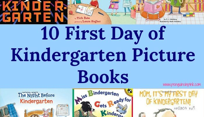 10 First Day of Kindergarten Picture Books