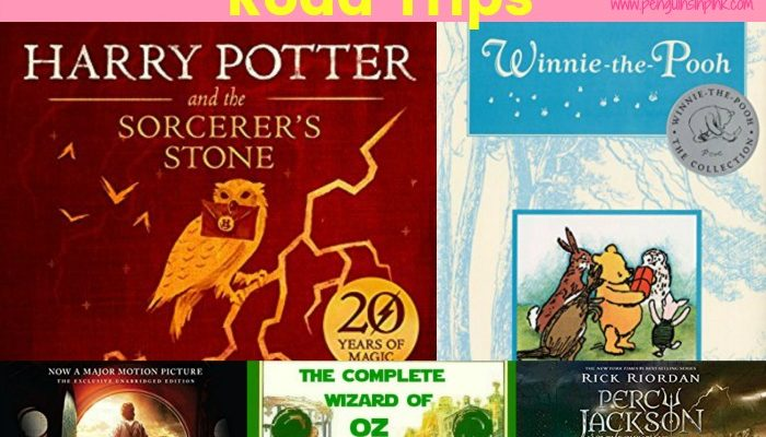8 Family Friendly Book Series to Listen to on Road Trips