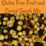 Gluten Free Fruit and Cereal Snack Mix