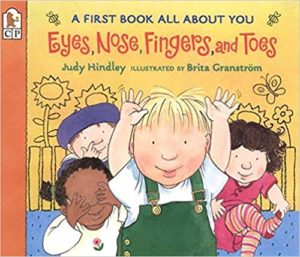 Eyes, Nose, Fingers, and Toes: A First Book All About You by Judy Hindley