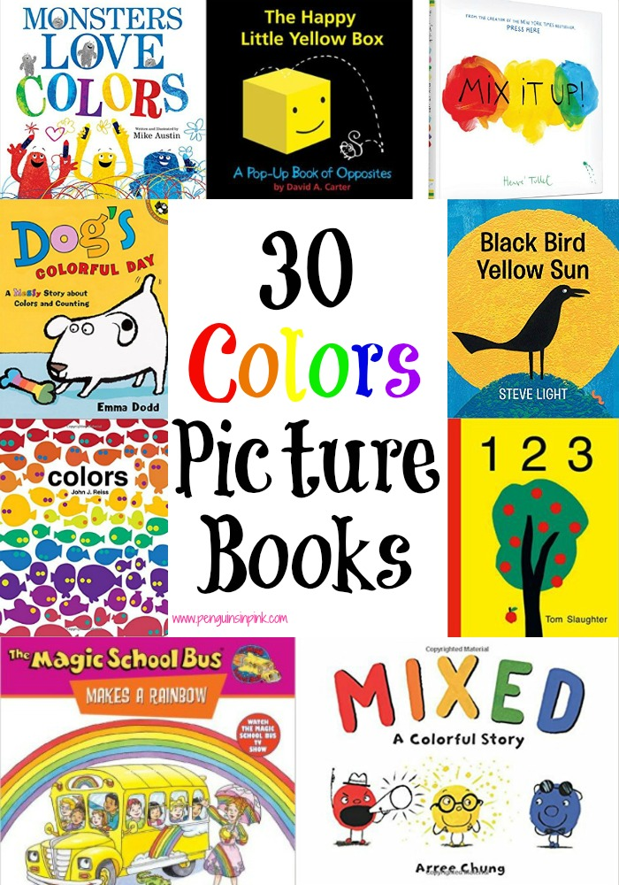 Through this list of 30 Colors Picture Books, you are sure to find at least a couple that interest your kids. There are color books on animals, art, and nature.