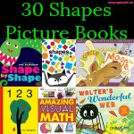 Through this list of 30 Shapes Picture Books, you are sure to find at least a couple that interest your kids. There are shape books on animals, art, and nature.