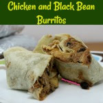 An easy and delicious recipe for freezer friendly Chicken and Black Bean Burritos. These burritos are filled with juicy chicken, hearty black beans, salsa, and cheese. They can be made gluten free too!