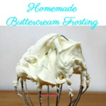 A simple yet heavenly homemade buttercream frosting that can be customized with different flavors and is easily dyed for all your decorating needs.