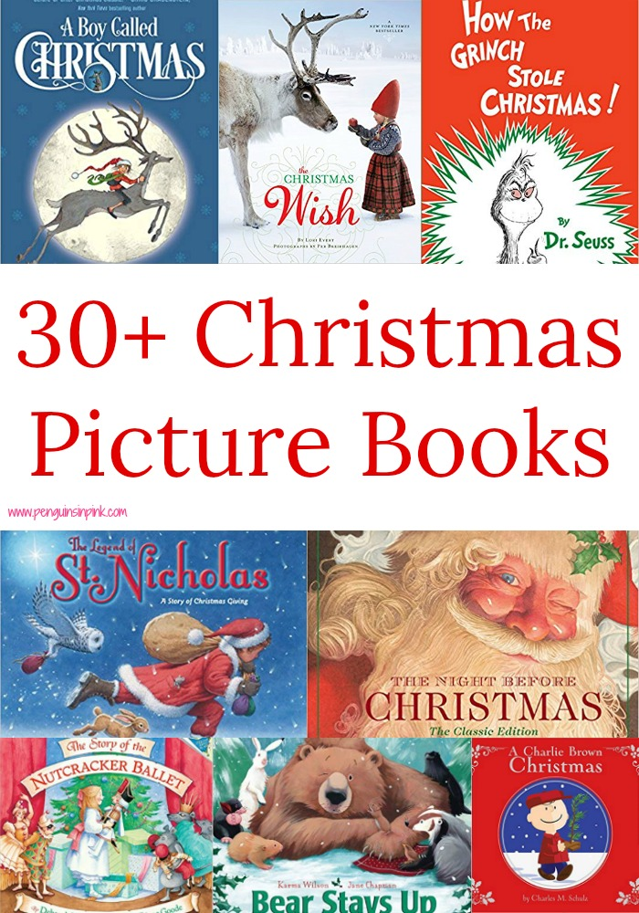 These 30+ Christmas Picture books are perfect for read-alouds and for beginning readers to practice reading. The books range from Preschool to 4th grade with a few 5th/6th/7th grade level books.
