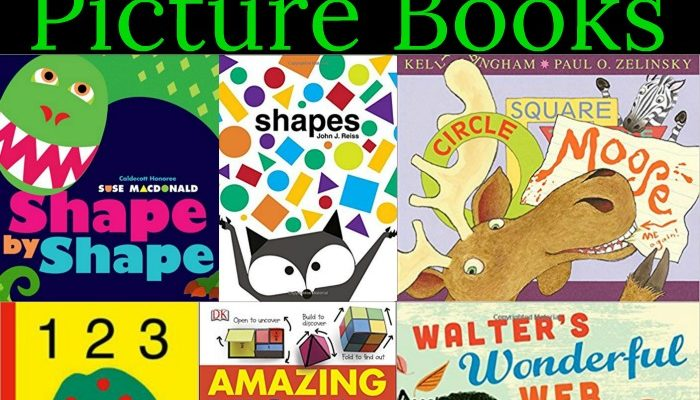 30 Shapes Picture Books