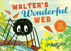 Walter's Wonderful Web: A First Book About Shapes by Tim Hopgood