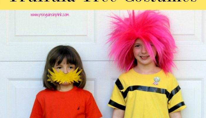 DIY The Lorax and Truffula Tree Costumes