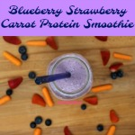 After struggling with picky eaters who refuse to eat protein and veggies, I came up with a healthy and tasty way to get that much needed protein and veggies in their diets. This Blueberry Strawberry Carrot Protein Smoothie is a sure-fire, healthy way to feed those peaky eaters.