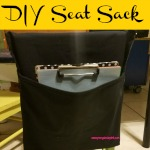 This DIY Seat Sack is a simple to make yet functional hanging chair pocket that will add extra storage space in the classroom.