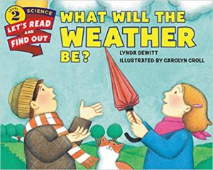 What Will the Weather Be by Lynda DeWitt