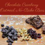 Chocolate Cranberry Oatmeal No-Bake Bars are simply delicious! They are also clean-eating friendly, gluten free, dairy free, and easy to make.