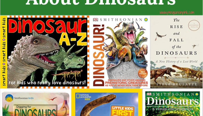 17 Educational Books About Dinosaurs