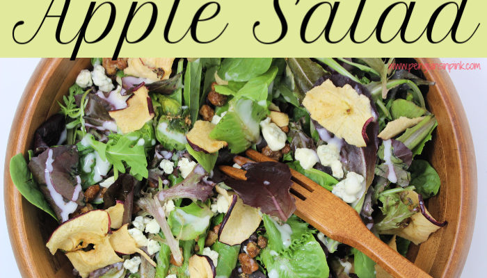 Sweet Onion Apple Salad