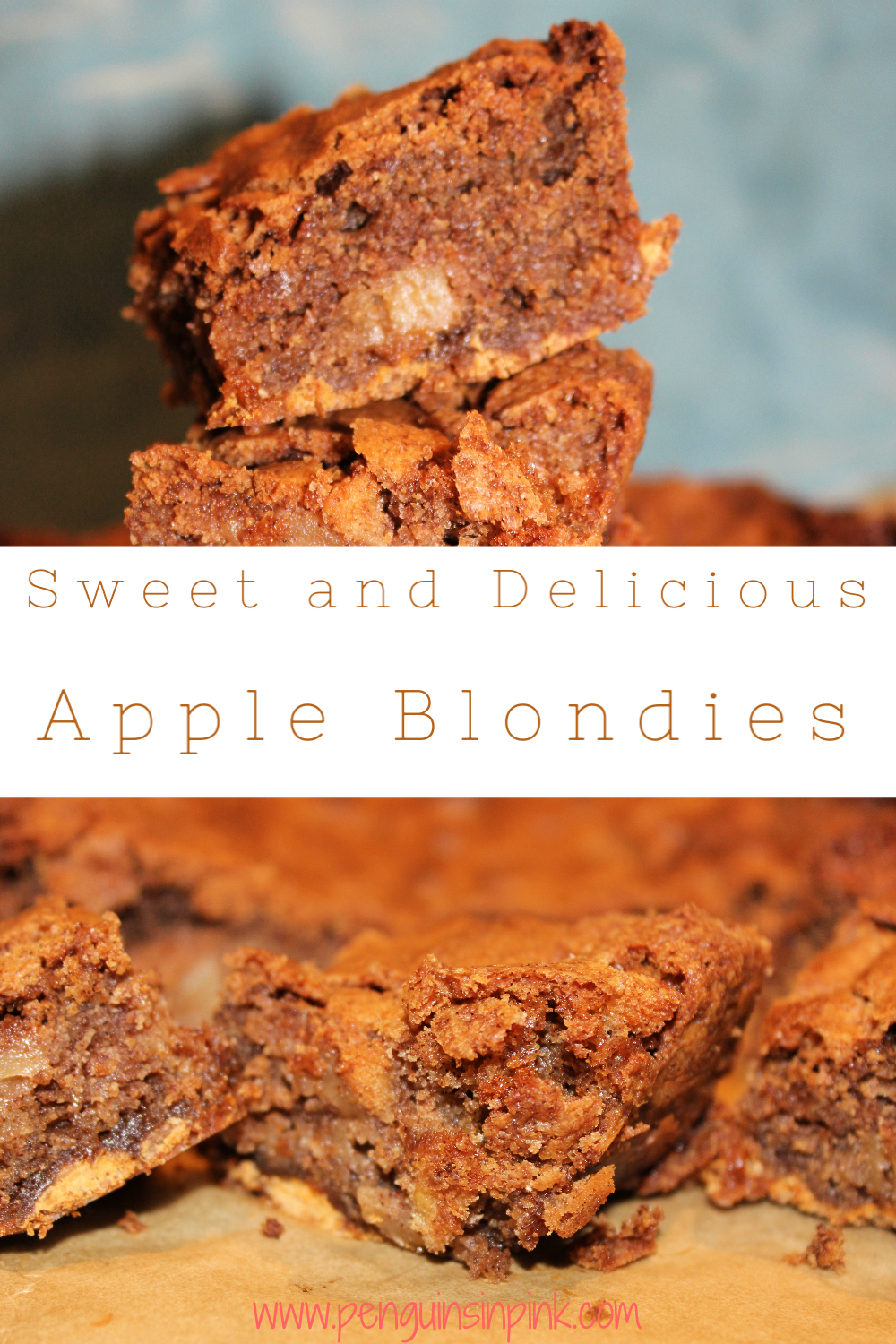 Looking for a new soon to be favorite treat? These Apple Blondies are dense, sweet treat that is balanced by the spicy cinnamon.