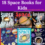From babies to 12th graders this list of Space Books for Kids has it all and is sure to educate your kids on our solar system to other galaxies in space.