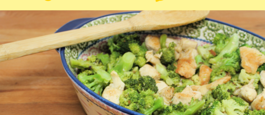 Lemon Butter Chicken and Broccoli
