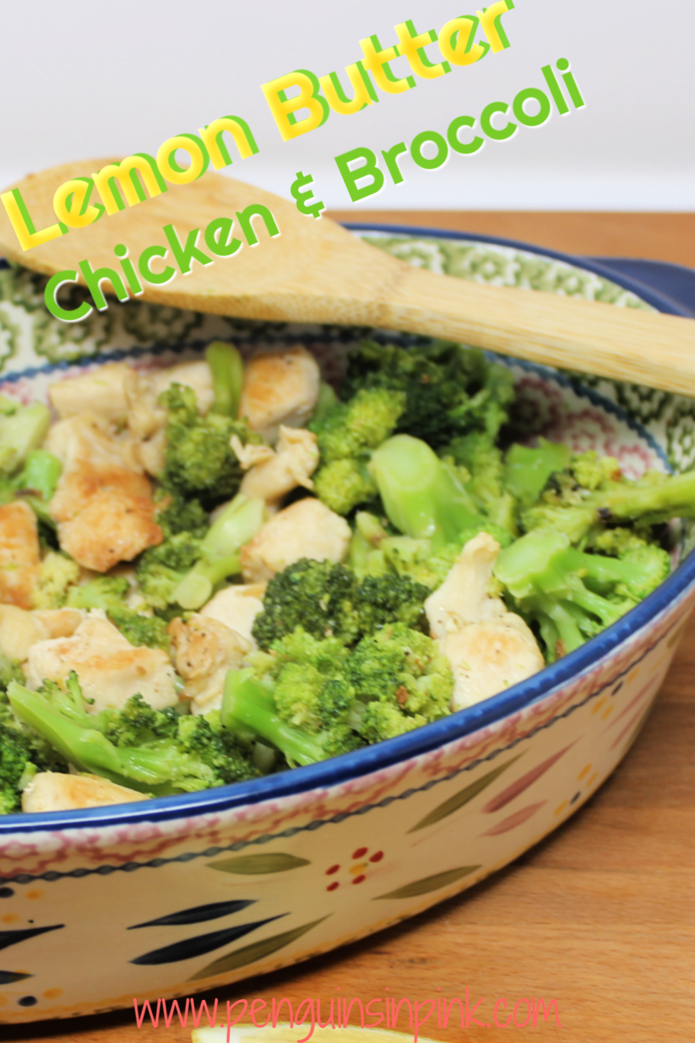 Lemon Butter Chicken and Broccoli is a quick and easy flavor packed dinner. 5 kitchen staples make a mouth-watering, delicious meal in less than 30 minutes.
