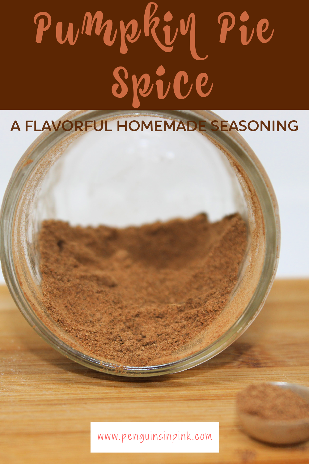 Homemade pumpkin pie spice is a staple spice of many fall treats. A fragrant blend of cinnamon, nutmeg, ginger, allspice, and cloves spices that is incredibly easy to make.