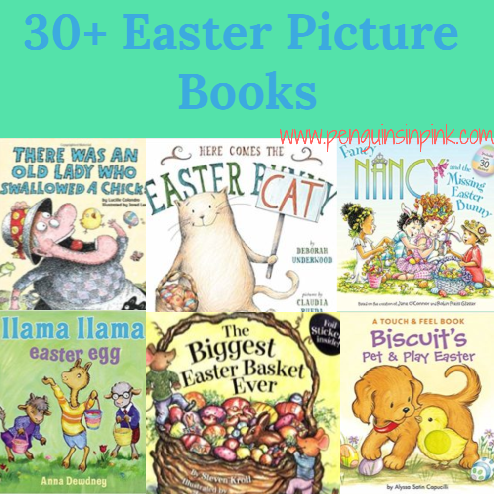 These 30+ Easter Picture books are perfect for read-alouds and for beginning readers to practice reading. The books range from Baby/Toddler up to 4th grade level books.